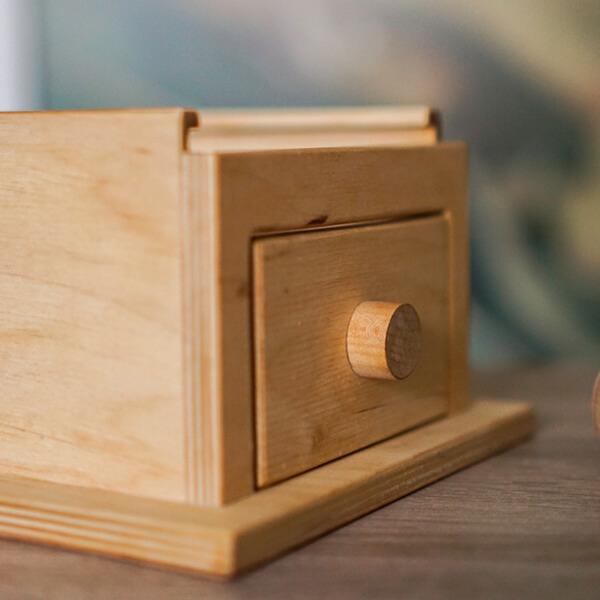Montessori fejlesztői játékok - fiókos doboz