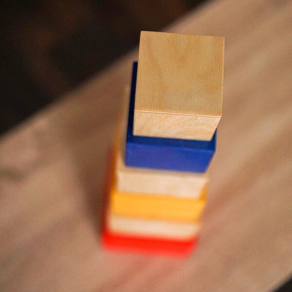 Montessory játék építőtorony